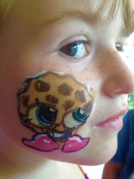 Snapkins face painting