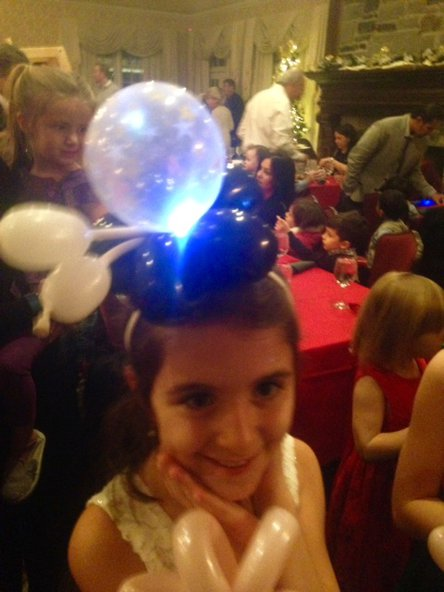 Light up hat for a girl
