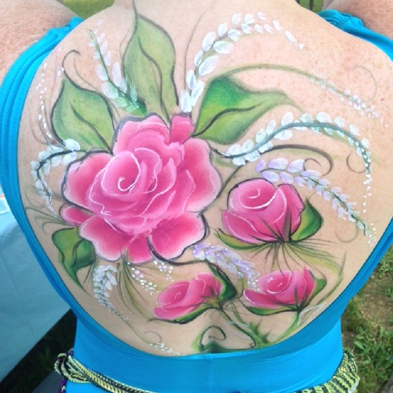 We provide professional full body painting services