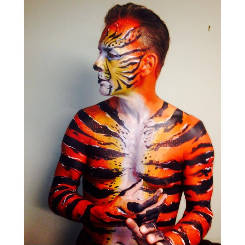 Full body painting for male and female
