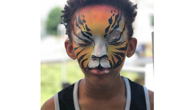 Body Painting For Kids